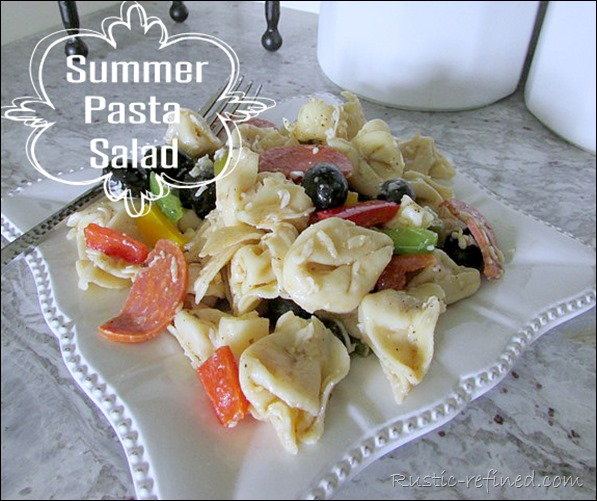 Delicious Pasta for any summer BBQ