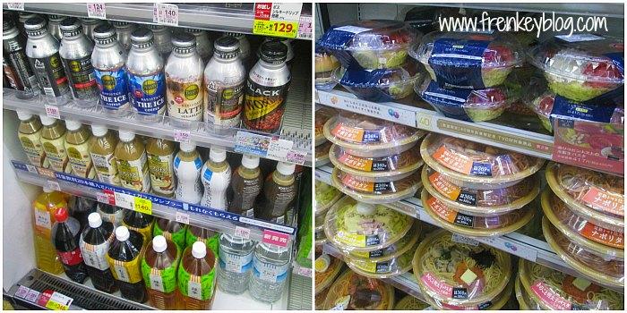 Minuman dan Makanan di Lawson Bandara Haneda