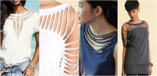 How To Design A Shirt By Cutting | Mystylespots 10 Diy T Shirt Cut Out Style Designs