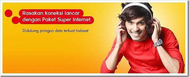 Super Internet Indosat 8GB Cuman 29 Ribu