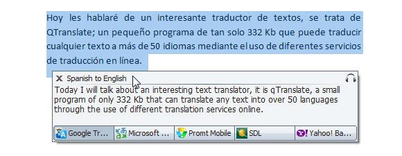 QTranslate: Popup Window