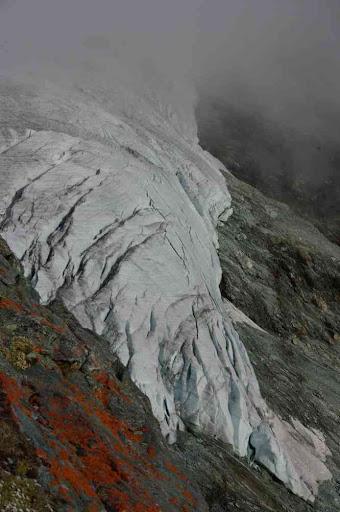 Langue du glacier de Turtmann
