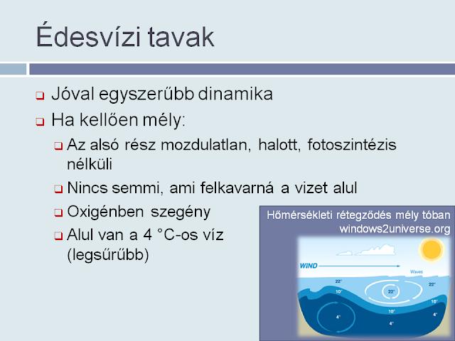 Édesvizű tavak
