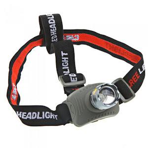 Ліхтар наголовний водонепроникний CREEQ5 800 Lm.