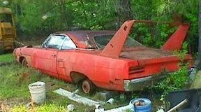 Abandoned Plymouth Roadrunner
