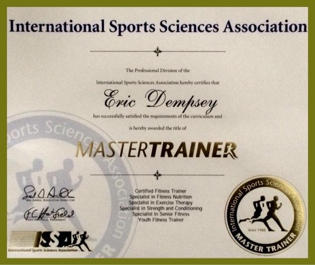 Dempseys Resolution Fitness Issa Master Trainer Certification