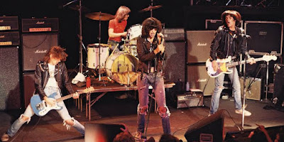 Ramones 1977 One of the precursor bans of Punk