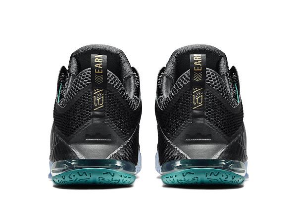 Release Reminder Nike LeBron 12 Low SVSM  Carbon
