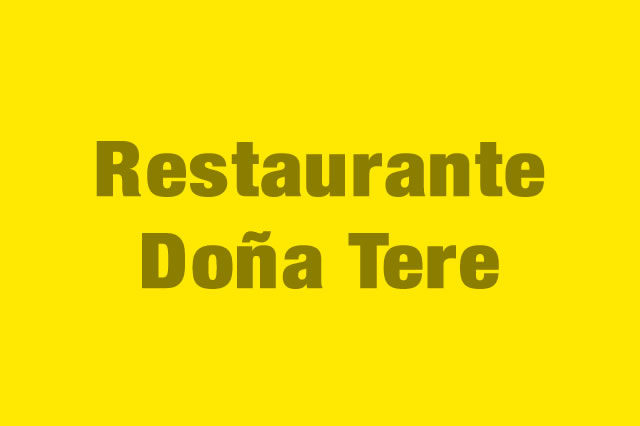 Restaurante Doña Tere es Partner de la Alianza Tarjeta al 10% Efectiva