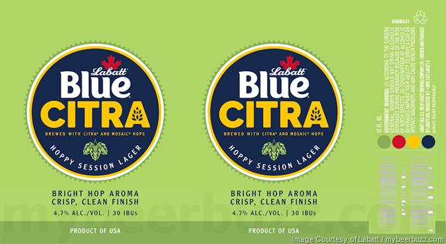 Labatt Adding New Labatt Blue Citra Cans