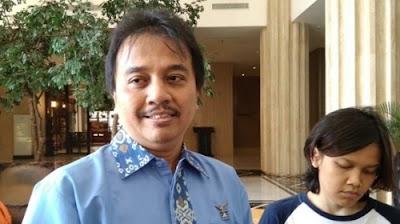 Foto Roy Suryo. Pesawat Sriwijaya Lost Contact, Eks Pengurus Demokrat Berdoa Evakuasinya Tepat dan Terukur.