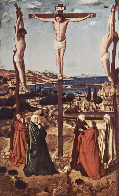 Antonello da Messina - Crucifixion, Muzeul National Brukenthal