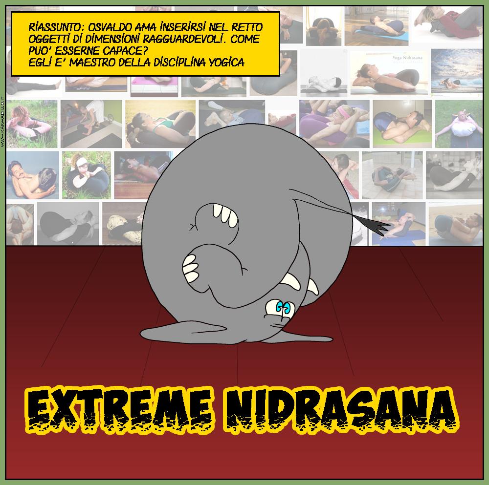 Osvaldo pratica la Nidrasana