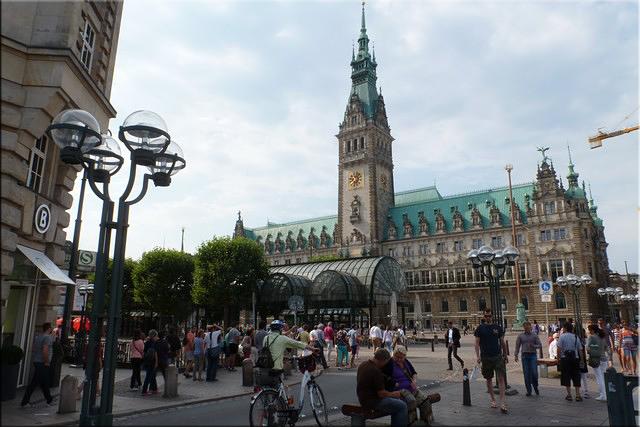 Ayuntamiento de Hamburgo (Hamburger Rathaus)