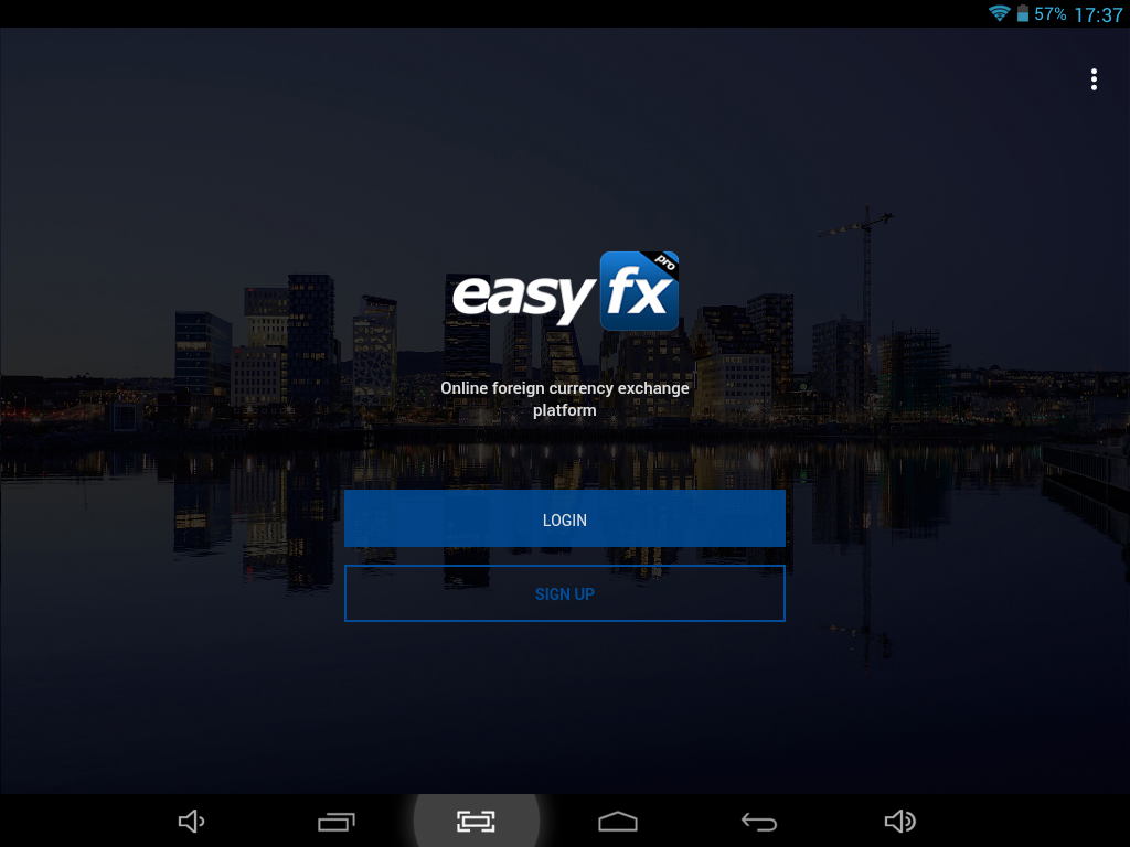 EasyFX Pro Mobile- screenshot