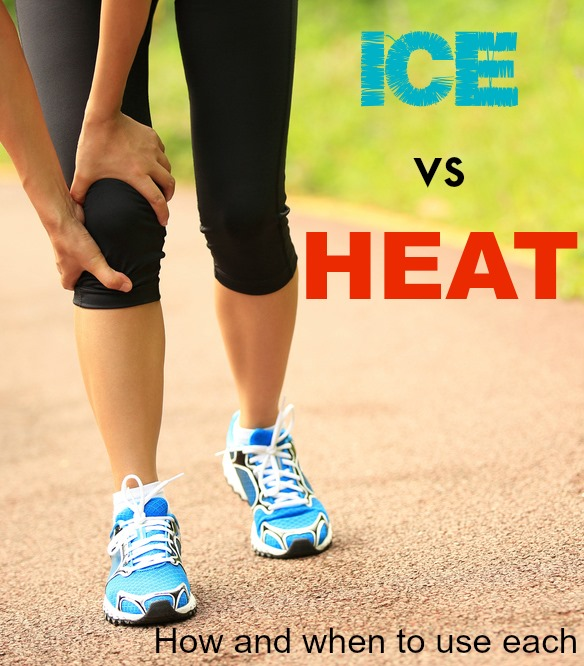 Should you use ice or heat on your running injury? learn which is best