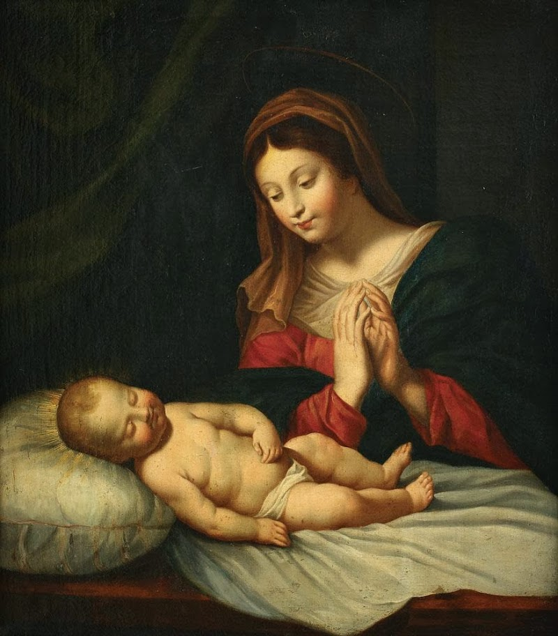 Carlo Dolci - Madonna and Child