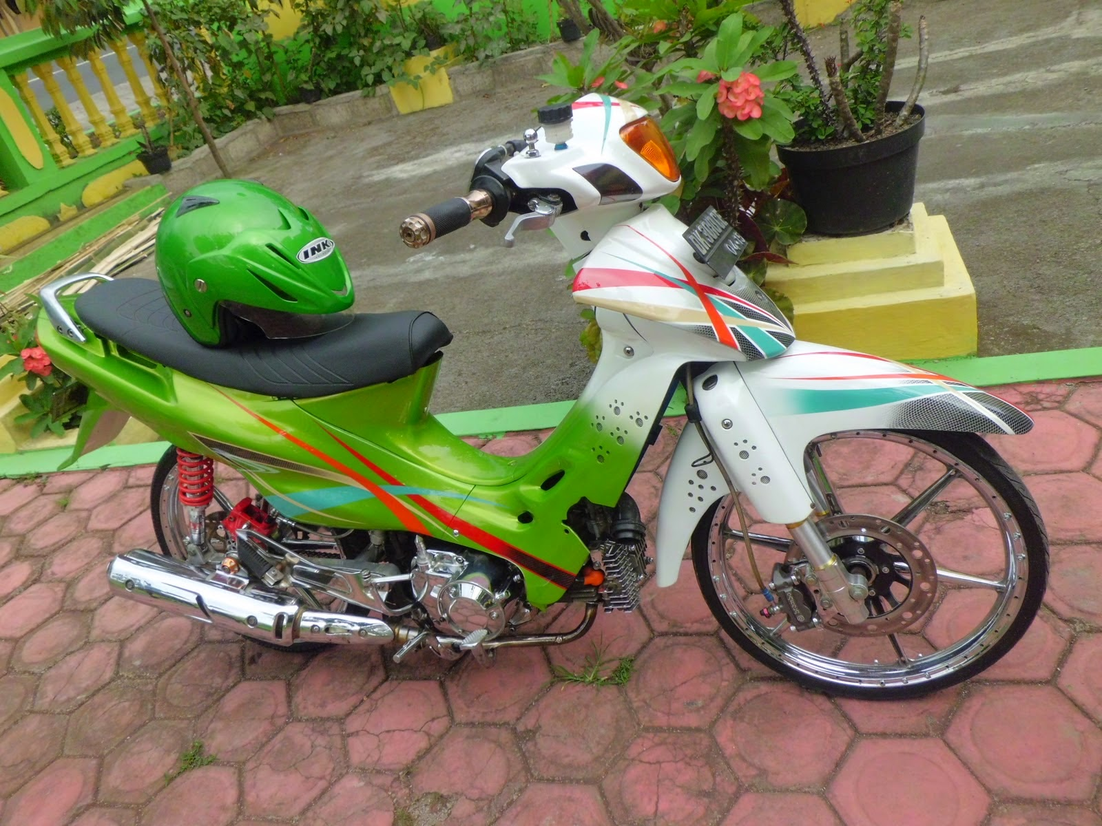 Modifikasi Motor Suzuki Shogun 110
