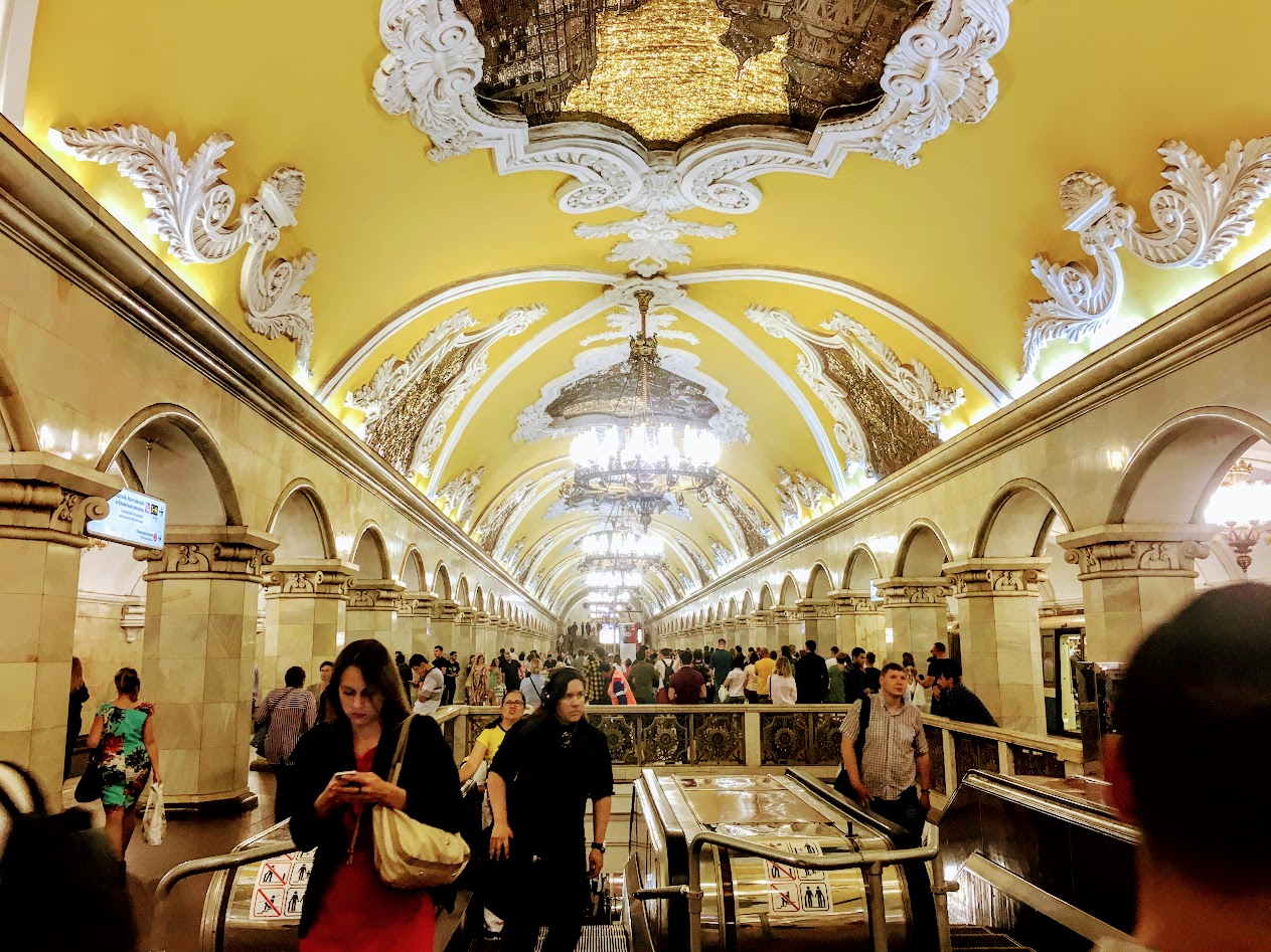 Moskova Metro Durağı