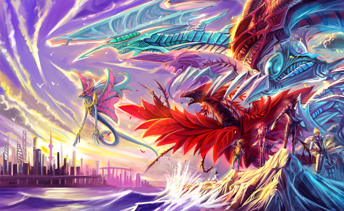 dragon black rose dragon black winged dragon city crow hogan dragon    Yugioh 5ds Dragon Wallpaper