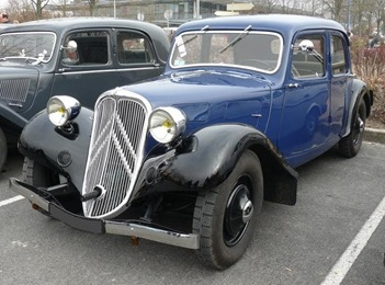 Citroën Traction 7C 1934