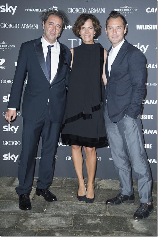 Paolo Sorrentino;Roberta Armani;Jude Law