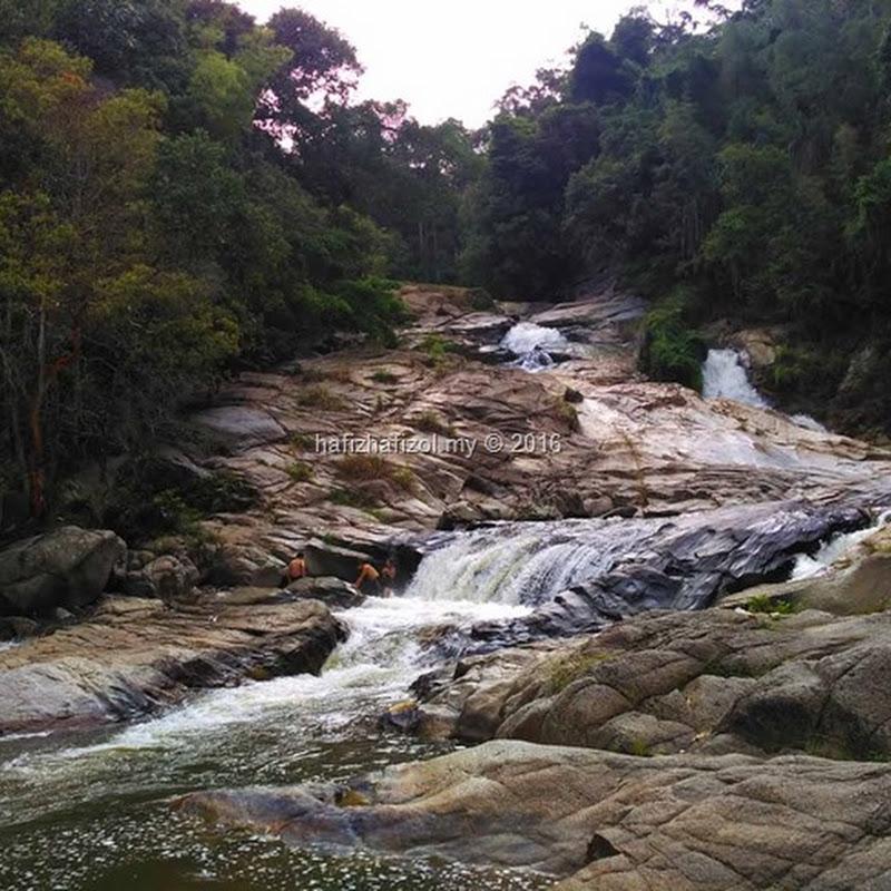 Berkelah di Air Terjun Chamang, Bentong