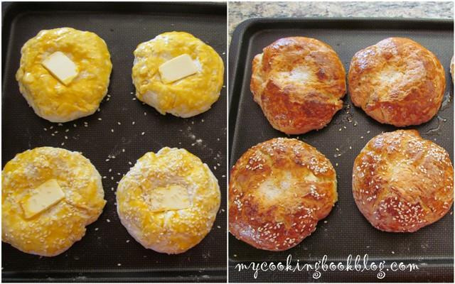 Бързи питки със сирене и сода