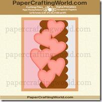 cascading heart card ppr cf-200