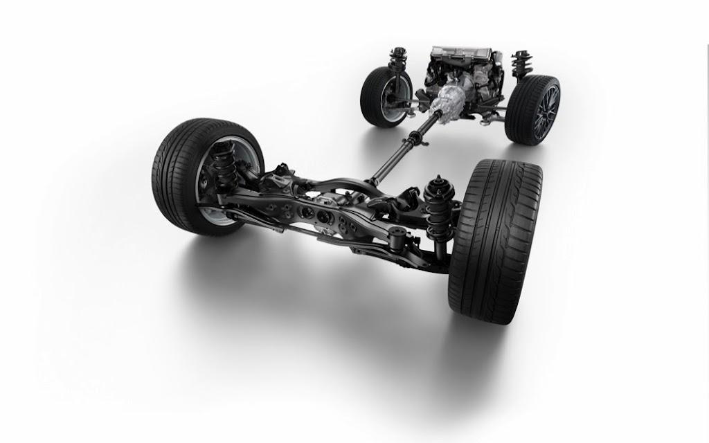 2015 Subaru WRX STI AWD chassis