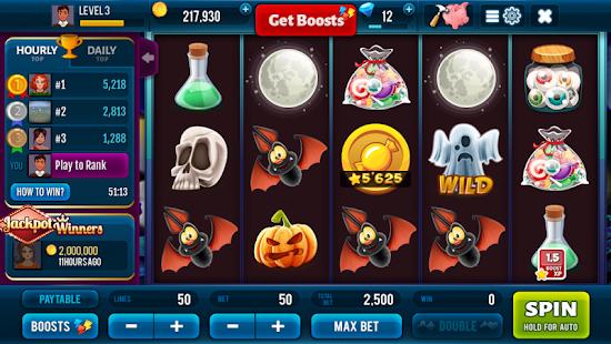 Halloween Jackpot Win Slots Screenshot