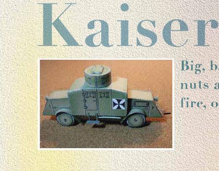 Kaiser Bussing Papercraft