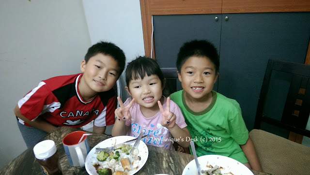 The three kids