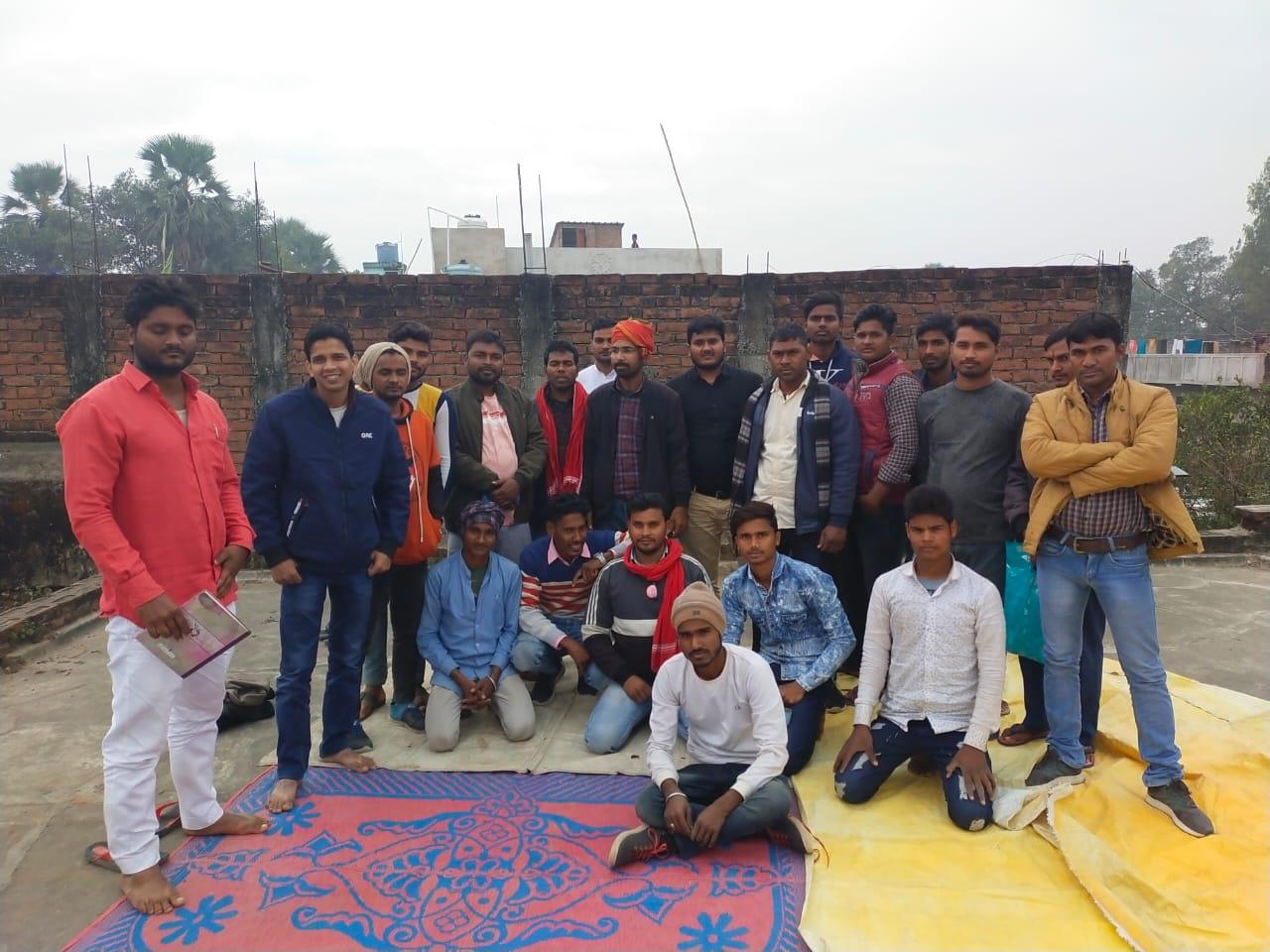 जगदीशपुर में छात्र संगठन आइसा की बैठक में लिए गए कई फैसले