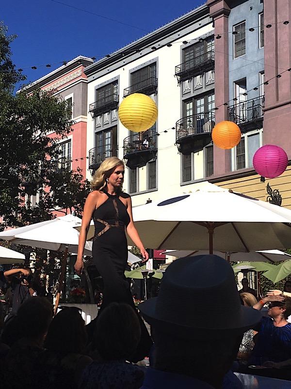 Santana Row Fall Fashion Show 10