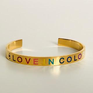 Tory Burch Love in Color Gold Cuff