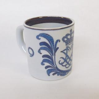 Royal Copenhagen Commemorative Mug