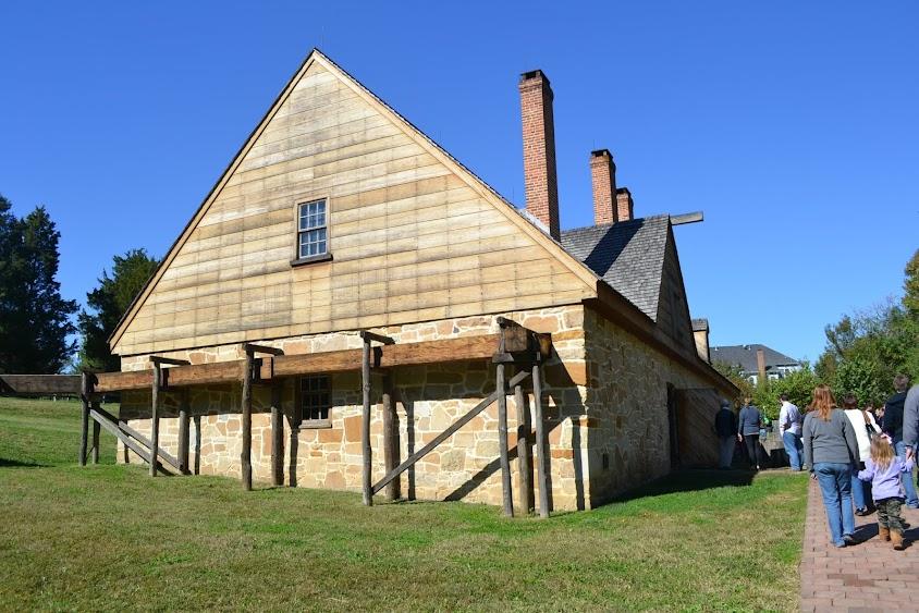 Винокурня в поместье Джорджа Вашингтона, Вирджиния (Mount Vernon Distillery, VA)