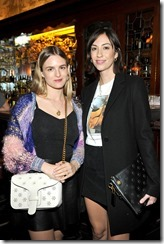 HOLLYWOOD, CA - MARCH 30:  Actor Natalie Love (L) and director Gia Coppola attend the Coach & Rodarte celebration for their Spring 2017 Collaboration at Musso & Frank on March 30, 2017 in Hollywood, California  (Photo by Donato Sardella/Getty Images for Coach)