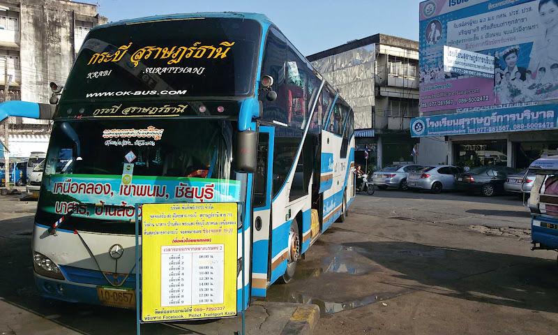 autocarro onibus tailandia
