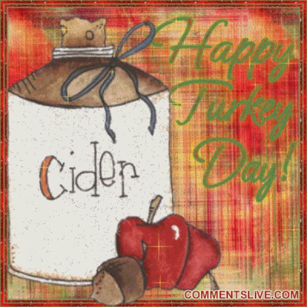 Cider Turkey Day, Wonderful Thanksgiving