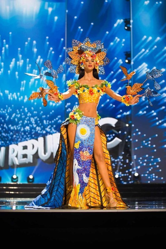 Sal Garcia, Miss Dominican Republic 2016 debuts her National Costume on stage at the Mall of Asia Arena on Thursday, January 26, 2017.  The contestants have been touring, filming, rehearsing and preparing to compete for the Miss Universe crown in the Philippines.  Tune in to the FOX telecast at 7:00 PM ET live/PT tape-delayed on Sunday, January 29, live from the Philippines to see who will become Miss Universe. HO/The Miss Universe Organization