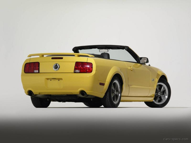 2007 ford mustang convertible specifications pictures prices. Black Bedroom Furniture Sets. Home Design Ideas