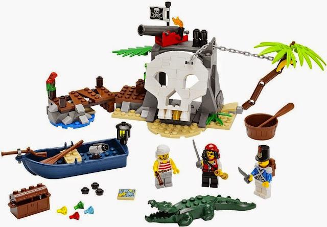 Đồ chơi Lego Pirates 70411 Đảo kho báu Treasure Island
