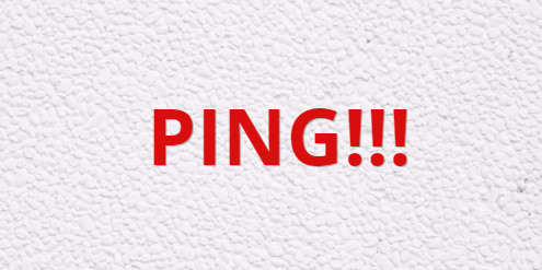ping!!!