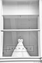 Photo: elementary  For #SAturdayStyle's   minimalism edition today, curated by myself and +lane langmade ,  I give you a window of the flagship boutique for atelier Jin Wang, designer of couture wedding gowns.  What is minimalism? Minimalism as a style seeks to expose the essence of a subject by eliminating all non-essential elements.  The atelier Jin Wang is located in historic Union Square in San Francisco. Both the window display and the gown itself exhibit minimalistic style elements.  The 5000-square-foot penthouse showroom is intended to serve as a neutral gallery to showcase one-of-a-kind dresses. In fact, all window displays in the atelier are stripped down to only the essential element: the dress shape. And of course, it's obvious to see with this dress that all embellishments have been removed, leaving only a simple dress form. One might argue that a wedding dress that has achieved such simplicity more accurately symbolizes the purity of a wedding.  When I go shopping in Union Square, the window displays for atelier Jin Wang always stand out among the displays competing for my attention primarily because of their simple design and stripped down aesthetic. When I shot this window, I couldn't help but stare at both the dress and display. I'm hoping that maybe this shot, despite or perhaps because of its neutral colors and simplicity, might stand out for you too :)