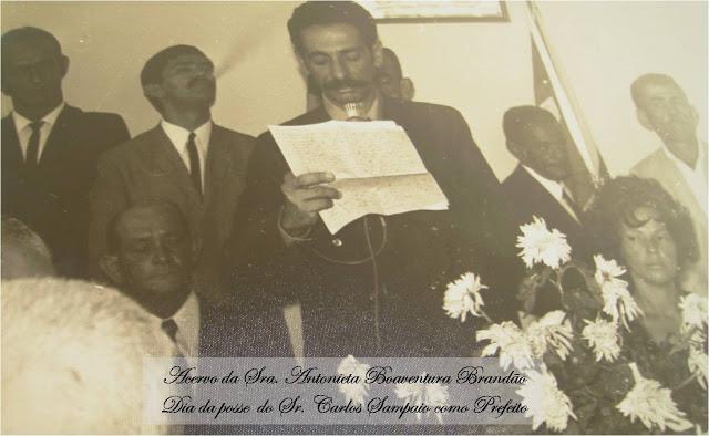 Ex-prefeito de Ruy Barbosa Carlinhos Sampaio falece aos 87 anos