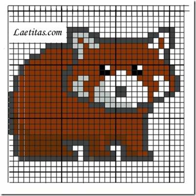 punto de cruz animales mamiferos  (20)