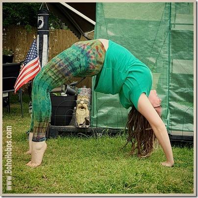 the boho hobos april 2016 yogaeverydamnday challenge