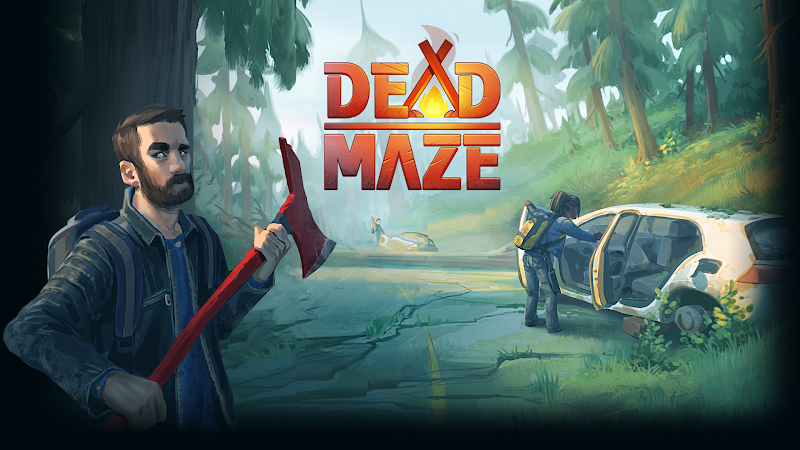 dead maze background